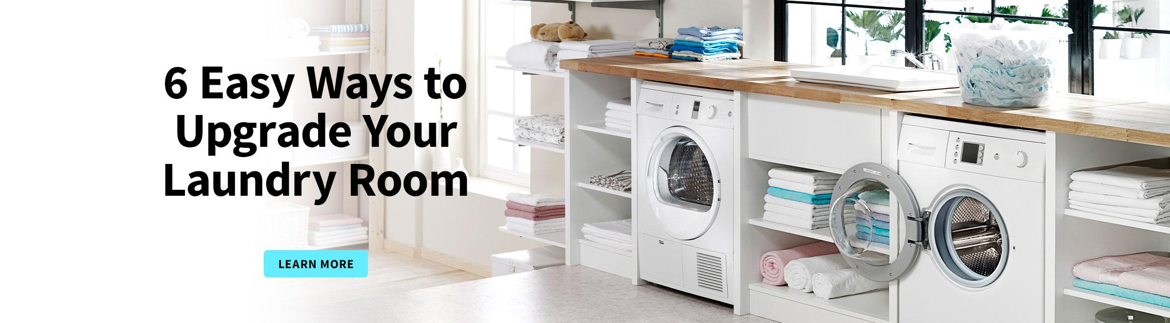 6 Easy Ways to Update Your Laundry Room