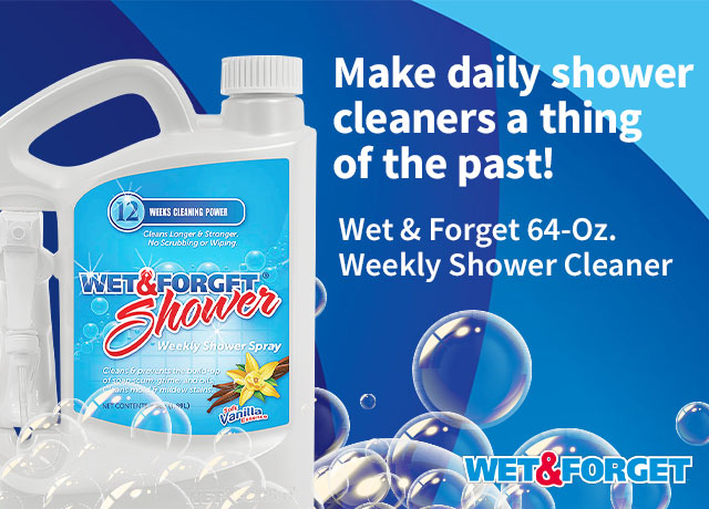 Wet & Forget Shower Cleaner