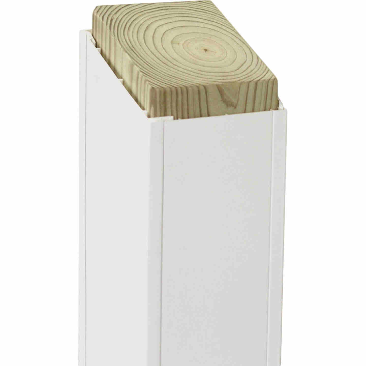 Beechdale 6 In. W. x 6 In. H. x 120 In. L. White PVC Smooth Post Wrap Image 1