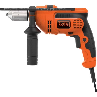 Black and Decker 1/2 In. 6.5-Amp Keyless Electric Hammer Drill