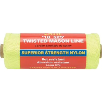 Do it 525 Ft. Fluorescent Yellow Twisted Nylon Mason Line