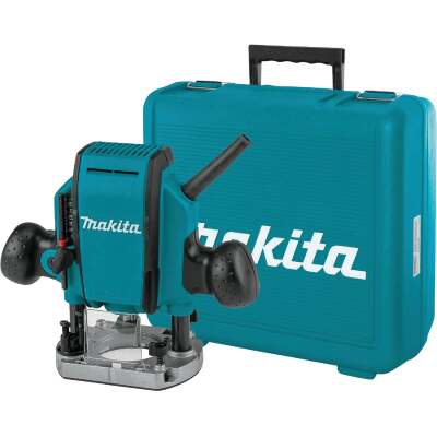 Makita 1-1/4 HP/8A 27,000 rpm Plunge Router