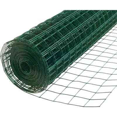 Do it 48 In. x 50 Ft. (2x4) Vinyl-Coated Galvanized Welded Wire Fence