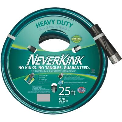 Neverkink 5/8 In. Dia. x 25 Ft. L. Heavy-Duty Garden Hose