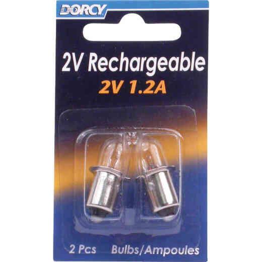 Dorcy 2V Krypton Replacement Flashlight Bulb (2-Pack)